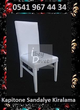 Beyaz Kapitone Sandalye Kiralama