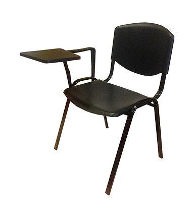 Siyah Seminer Sandalyesi (Kolçaklı)