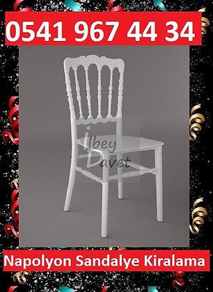 Beyaz Napolyon Sandalye Kiralama