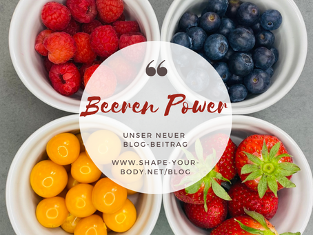 Beeren Power – unsere SYB TOP-4 Liste