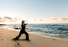 Beach Qi Gong, Sage Brodersen, L.Ac - SageBee Acupuncture and Healing arts