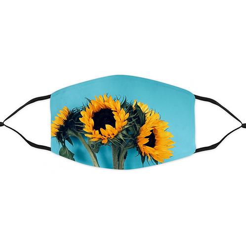 Sun Flowers Mask