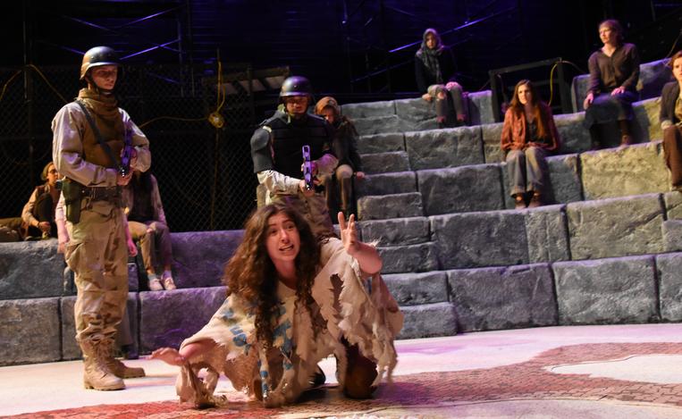 """Cassandra in """"Women of Troy"""""""