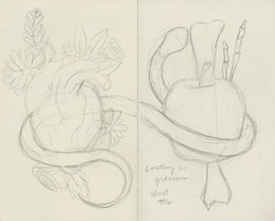 """From Eden, To Megan"" Sketch"