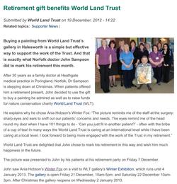 World Land Trust Gallery
