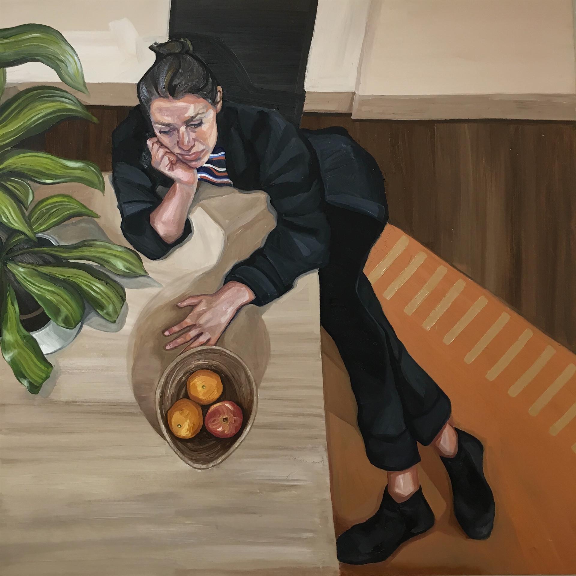 'Self Portrait' Ania Hobson, Suffolk.jpg