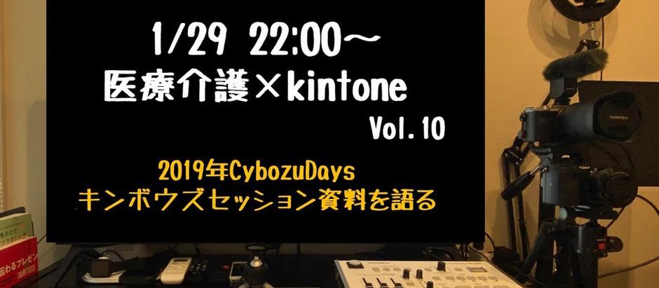 Cybozudays担当セッション資料を語る 医療介護×kintone Vol.10