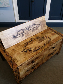 recycled coffe table tv cabinet