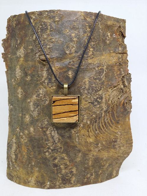 handmade pendant/necklace wood