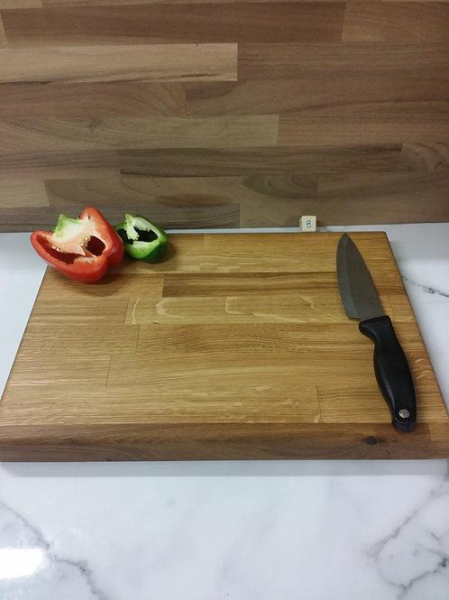 Handmade wooden chopping board  410x300x40mm