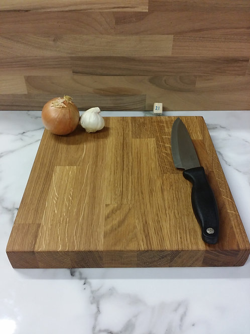 Wooden Chopping Board 300x300x40mm