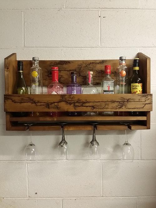 Handmade Gin-Wine rack Unique design