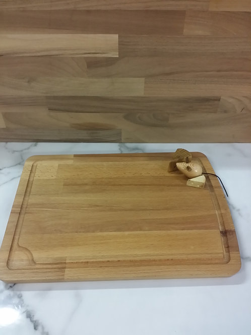 Cheese board Handmade with mouse & cheese
