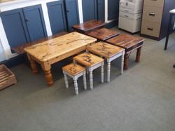 Fractle Burning Design Tables