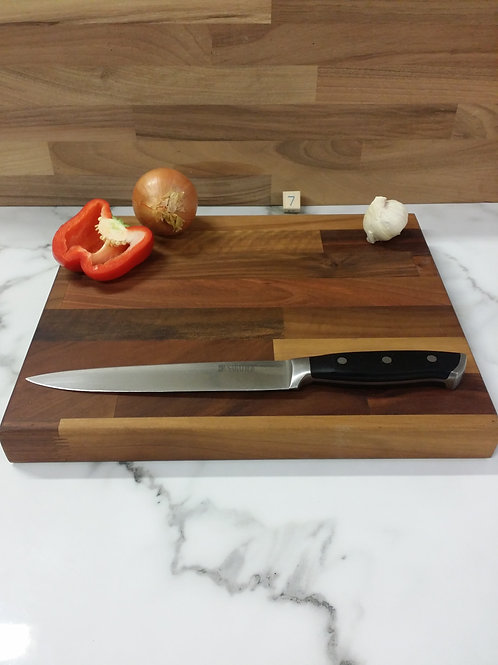Handmade Wooden Chopping Board Walnut Unique One Of A Kind Design