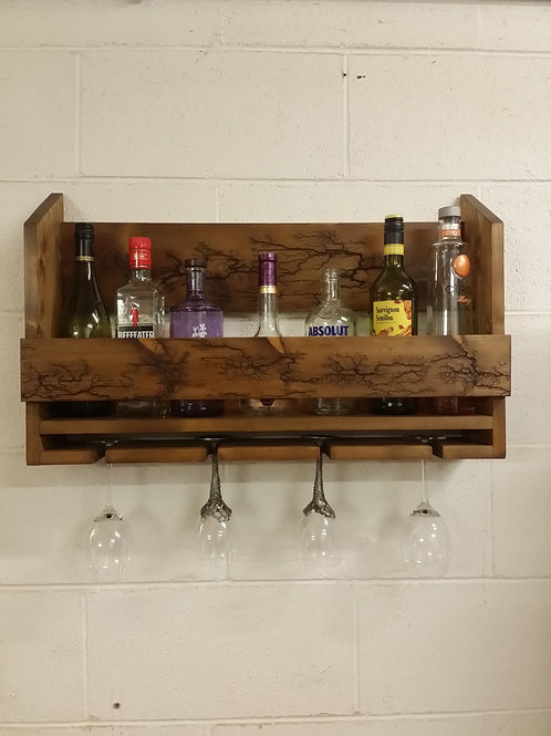 Gin-Wine rack with unique design