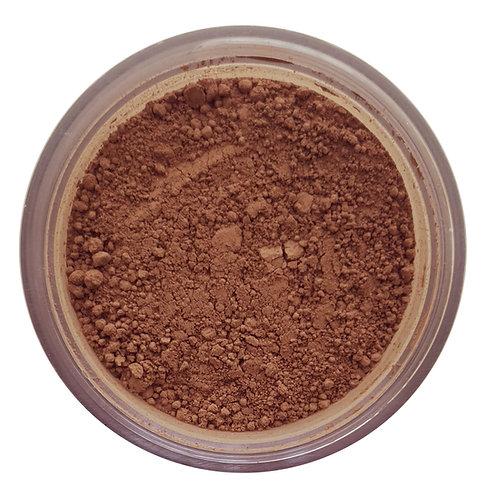 cipria-face powder-dark talc