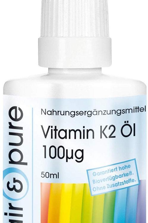 Vitamina K2 olio 100mcg