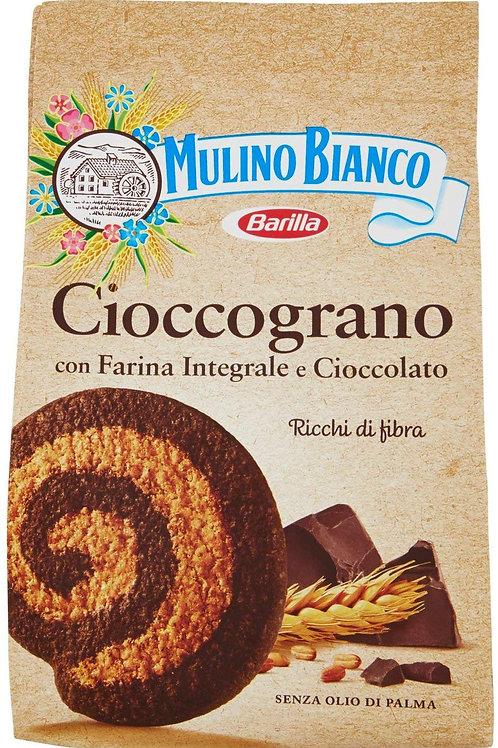 Mulino Bianco Biscotti Frollini Integrali Cioccograno con Farina Integrale e Cio