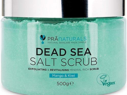 Pranaturals Scrub Corpo Rivitalizzante ai Sali del Mar Morto 500g