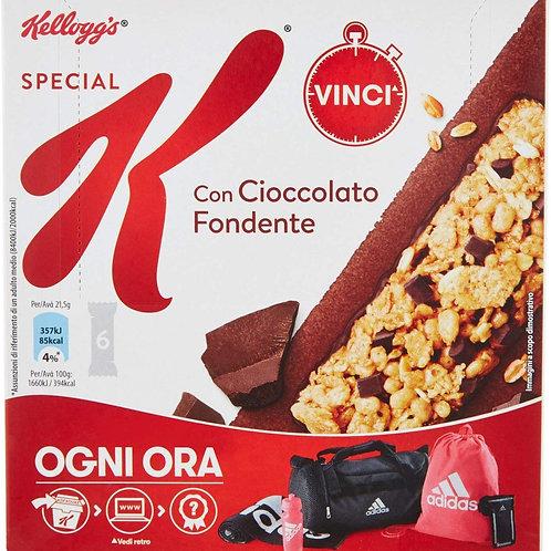 Kellogg's Barrette di Cereali con Cioccolato Fondente