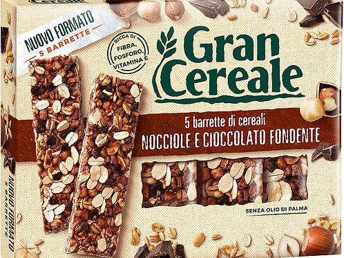 Gran Cereale - Snack Barrette 4 Cereali Nocciola e Cioccolato