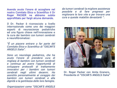 Paediatric Neuro-Oncology: Covid19 and more. An interview with our Ethic and Scientific Commitee Mem