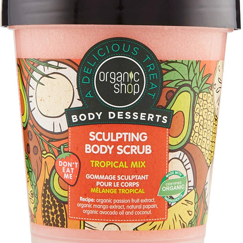 Organic Shop Scrub Corpo Modellante Tropical Mix