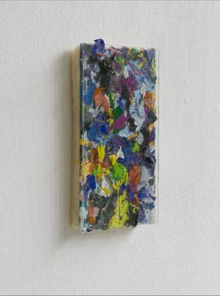 10x15 cm Wachsgemisch, Glasplatte, Acryl