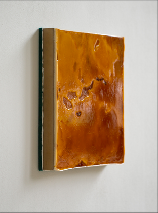 40,5x40,5 cm Isomatte, Acryl, MDF, Paraf