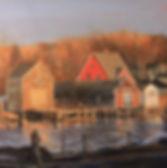 Douglas .H. Caves Sr. Artist, Landscape Paintings