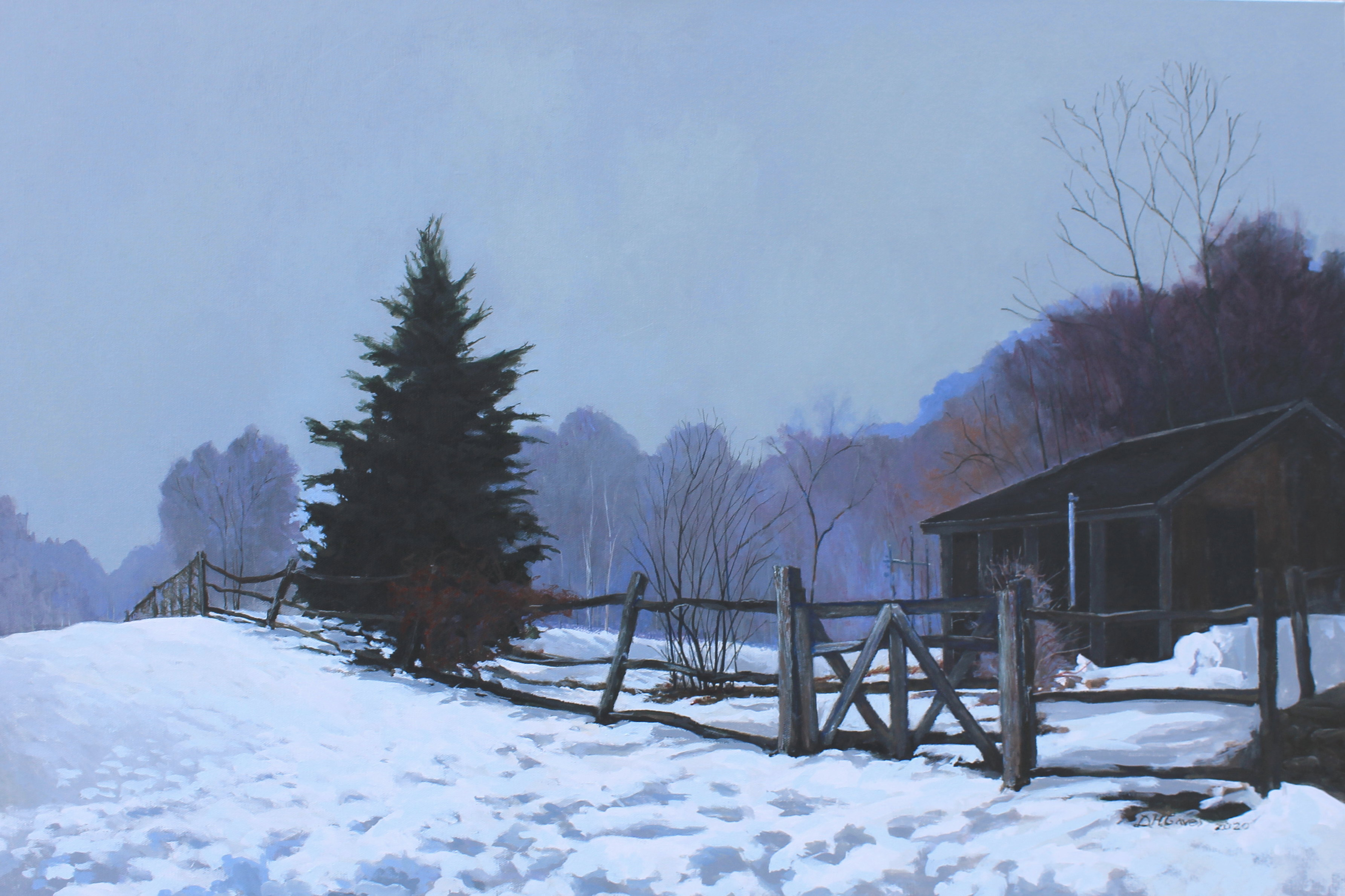 Winter Fence SOLD