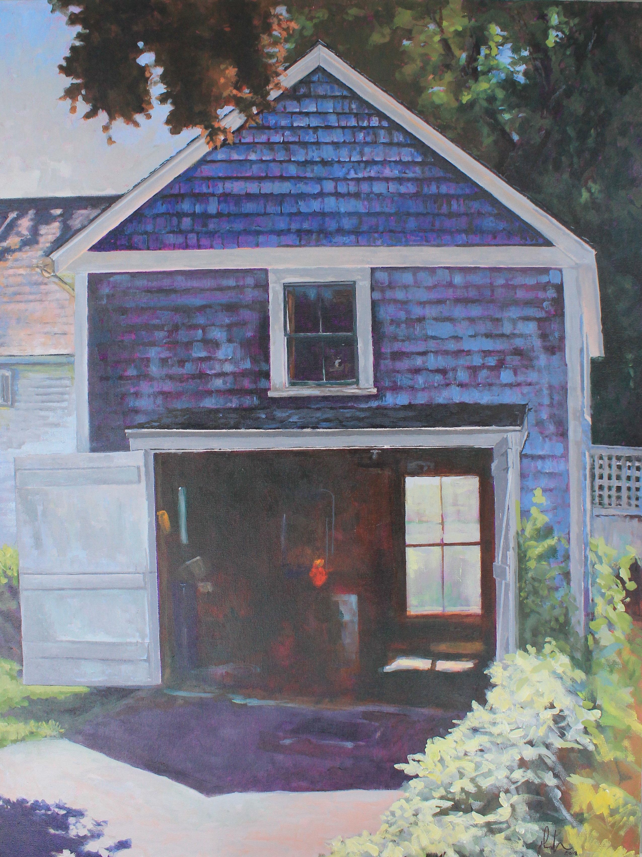 Blue Garage, Kennebunkport, ME