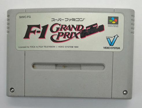 F-1 Grand Prix for Nintendo Super Famicom