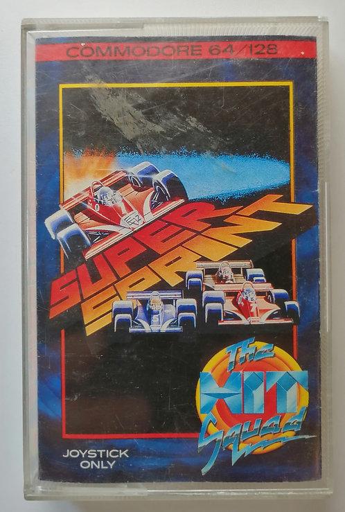 Super Sprint for Commodore C64