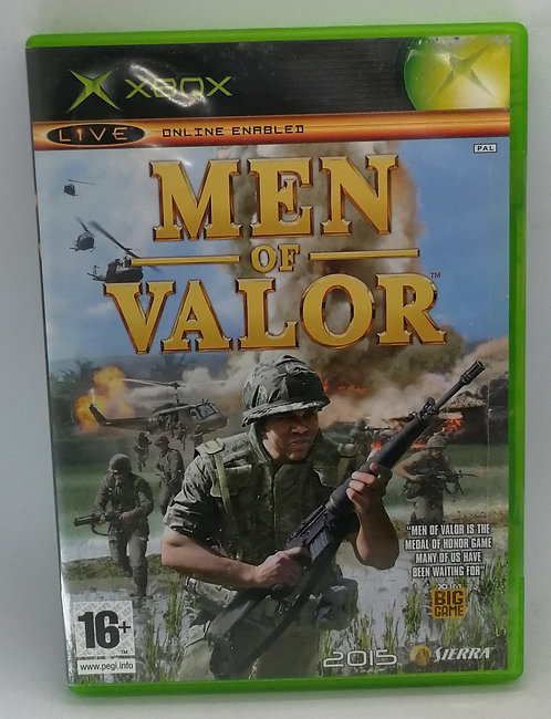 Men of Valor for Microsoft Xbox