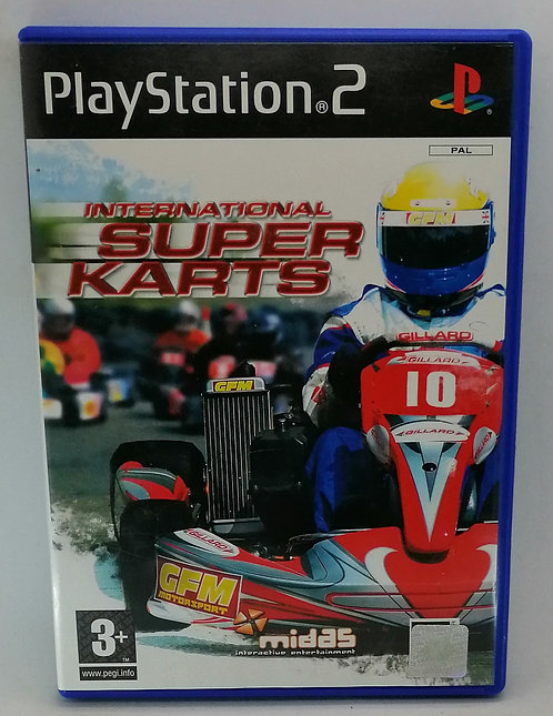 International Super Karts for Sony PlayStation 2 PS2