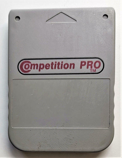 Competition Pro 1MB Memory Card (Grey) for Sony PlayStation P