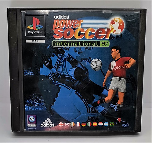 adidas Power Soccer International '97 for Sony PlayStation PS1