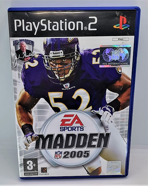 Madden NFL 2005 for Sony PlayStation 2 PS2