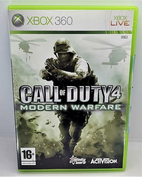 Call of Duty 4: Modern Warfare for Microsoft Xbox 360