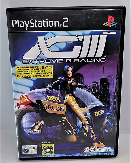 XGIII: Extreme G Racing for Sony PlayStation 2 PS2