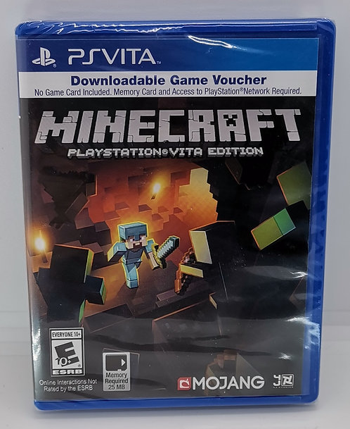 Minecraft for Sony PlayStation Vita