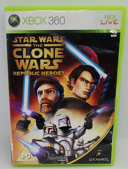 Star Wars: The Clone Wars - Republic Heroes for Microsoft Xbox 360