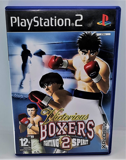 Victorious Boxers 2: Fighting Spirit for Sony PlayStation 2 PS2