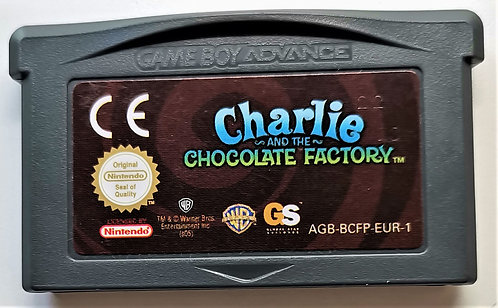 Charlie and the Chocolate Factory for Nintendo Game Boy Advance GBA