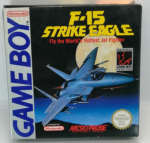 F-15 Strike Eagle for Nintendo Game Boy