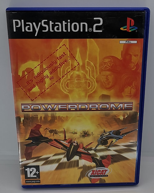 Powerdrome for Sony PlayStation 2 PS2