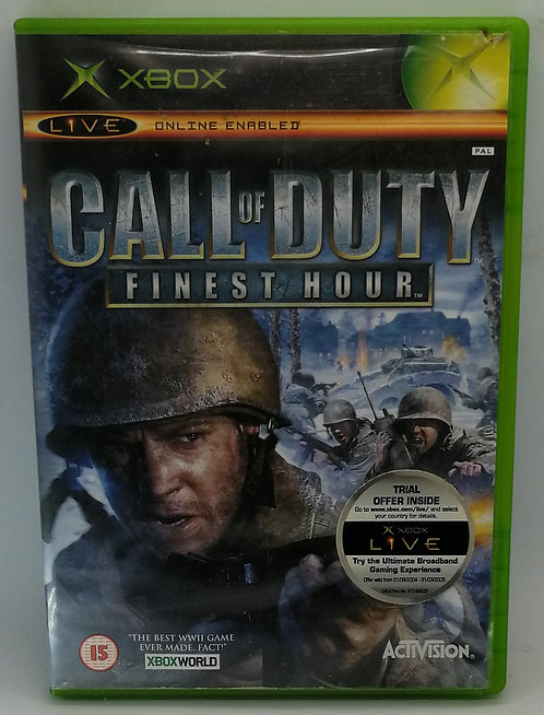 Call of Duty: Finest Hour for Microsoft Xbox