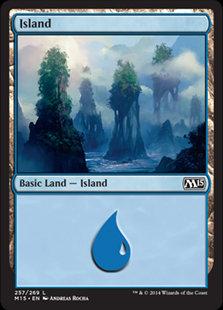 MAGIC THE GATHERING MAGIC 2015 Card - 257/269 : Island